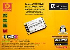 Compex wle900vx Atheros qca9880 Minipci express 802.11ac 1300 Mbps 3x3 double radio