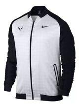 Nike NikeCourt RF Rafael Nadal Tennis Jacket Black White XL [830929-100]