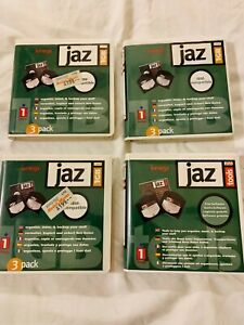3 x IOMEGA JAZ 1GB Disks - PC Formatted - Plus Tools Disk