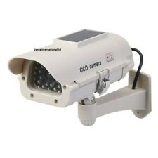 Brand New Dummy CCTV Home Security Camera with LED Solar Powered  Weatherproof