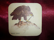 Vintage EAGLE BITTER CHARLES WELLS BEER DRINK DRIP MAT COASTER Man Cave Home Bar