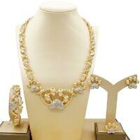 #80 HUGS &KISSES xo sets necklace bracelet earrings ring 18k Layered real GF