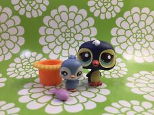 Littlest Pet Shop Snack Time With Mommy~ Penguins 🐧 2495~baby 2496 Cutest Pets