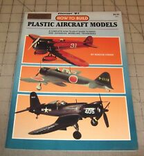 1985 HOW TO BUILD PLASTIC AIRCRAFT MODELS Booklet/Magazine in GD++ Condition