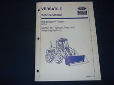 New Holland 9030 Tractor Wheels Tires Weight Service Shop Repair Workshop Manual