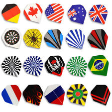 60pcs Dart Standard Flights Strong Wings Tails Variety of Styles