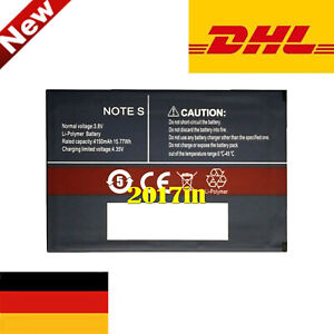 note S AKKU für CUBOT note S Smartphone Mobile Cell phone 3.8V 4150mAh/15.77Wh