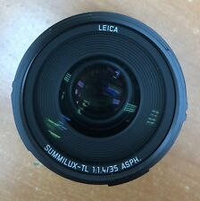 NEW LEICA SUMMILUX-TL 35MM F/1.4 ASPHERICAL LENS FOR T & SL SYSTEM CAMERAS
