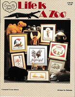 Life Is A Zoo Cross Stitch | Cross My Heart CSB-20