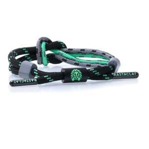 Rastaclat Flared Green Black Knotted Urban Shoelace Wristband Bracelet 11200104