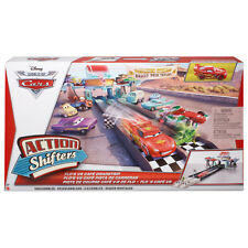 Disney Pixar Cars Flo's V8 Cafe Dragstrip Action Shifters Connectable Playse NEW