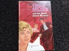 Trixie Belden And The Black Jacket Mystery, Kathryn Kenny, H/C vintage 1970s