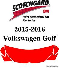 3M Scotchgard Paint Protection Film Pro Series 2016 Volkswagen Golf Sportwagen