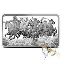10 oz Four Horsemen Of The Apocalypse SILVER BAR .999 4 Horseman -