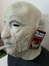 New Grandpa Deluxe Latex Mask Teaxas Chainsaw Leatherface Trick or Treat Horror