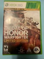 Medal Of Honor Warfighter Limited Edition - Used - Xbox 360 -FREE S/H-(B72A)