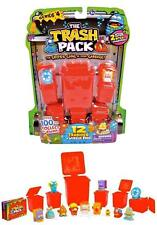The Trash Pack Series 4 - Twelve Trashies - Red Bins ( 12 Pack )  -Contents vary