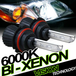 6000K Hid Bi-Xenon 9004/Hb1 Hi/Lo Beam Headlights Headlamps Conversion Kit Vd4