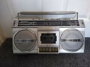 Sharp GF4343 Stereo Radio Cassette Recorder Boombox Part working