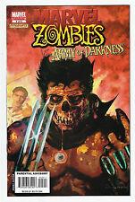 Marvel Zombies VS Army of Darkness 5 NM Comic Book 2007 Arthur Suydam 1st Print