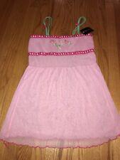 POPSI LINGERIE Sexy Lace Mesh Halter Babydoll Martha Vineyard Women Gown Sz XL #