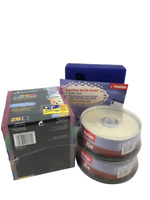 Imation CD DVD Jewel Cases Slim Design Storage Media Organizer Lot Of 2 NEW