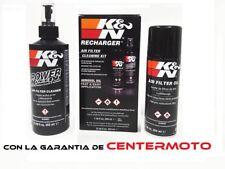 KIT LIMPIEZA FILTRO AIRE K&N 99-5000EU KN | Moto | limpiador filtros ENVIO 24H!!