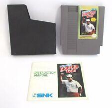 """RETROGAME """"F.IGHTING  GOLF"""" NINTENDO NES ANNO 1985 VIDEOGIOCO FUNZIONANTE"""