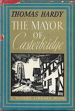 Hardy, Thomas, THE MAYOR OF CASTERBRIDGE, Modern Library No. 17, HCDJ, Good+