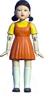 """SQUID GAMES DOLL 72"""" Tall Life Size Cardboard Cutout Standee"""