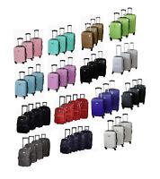 Reisekoffer Hartschalen & Stoff M L XL XXL Trolley Koffer Reisetasche ABS Tasche
