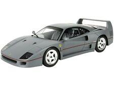 BBR 1:18 P18167 1987 Ferrari F40 (Sultan of Brunei), gunmetal w. Showcase - NEU!