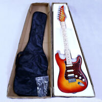 ST Electric Guitar Basswood Body Maple Neck Maple Fingerboard SSH Alnico Pick Up