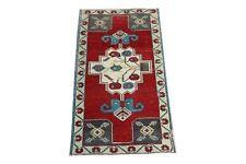 Handmade Vintage Small Rug, 1.8x3.2 ft, Bath mat, Bathroom rug, Rug 2x3, doormat