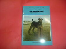 PEDIGREE DOGS IN COLOUR TERRIERS ROY HODRIEN JOB LOT 48 BOOKS SOFT BACK NEW