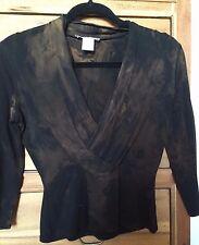 White House Black Market black tie dye top m