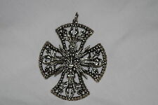 Collectible Detailed Vintage Celtic Cross Kreuz Pendant by ART