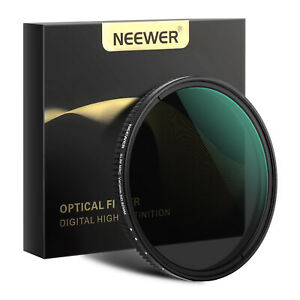 Neewer 67mm/77mm/82mm Variable Fader ND Filter Neutral Density Variable Filter