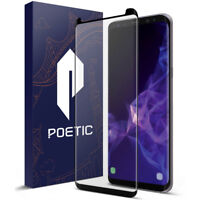Poetic Tempered Glass Screen Protector For Samsung Galaxy S9 / S9 Plus Cover
