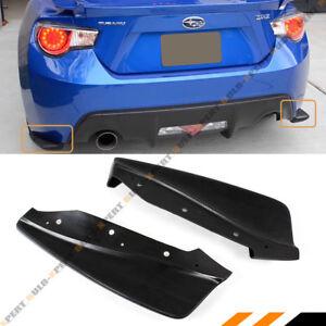 For 2013-2016 Scion FR-S FRS / Subaru BRZ CS Style Rear Bumper Aero Side Aprons