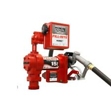 New listing Fill-Rite 12-Volt 1/4 Hp 15 Gpm Fuel Transfer Pump w/Meter Package (Mechanical)