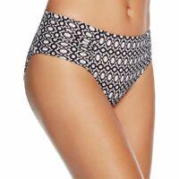 Heidi Klum Swim Women's Kiss by The Sea Printed Bikini Bottom, 12