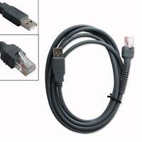 2/3/5m USB Cable for Symbol Zebra Barcode Scanner LS1203 LS2208 LS4208 DS6878