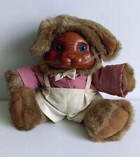 Robert Raikes Originals Bunny Rabbit Brett caras de madera