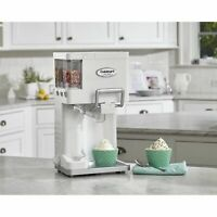 Countertop Soft Serve Ice Cream Machine Maker Yogurt Automatic Freezer Fully