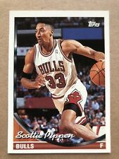 1993-94 Topps #92 Scottie Pippen Chicago Bulls Basketball Card