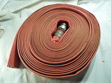 Goodyear Spiraflex Red 2 Id Flame Resistant Discharge Hose 100ft One Fitting