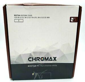 Noctua NA-HC2 chromax.White, Heatsink Cover for NH-U12S, NH-U12S TR4-SP3, NH-U12