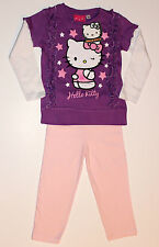 Hello Kitty Pyjama Set-Taille: 1-2-YRS 86/92 cm
