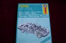 Haynes Workshop Manual 903 Ford sierra 1982 to Feb 1987 .NEW